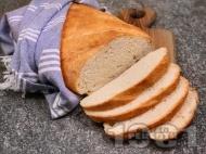 Лесен домашен хляб на фурна със суха мая